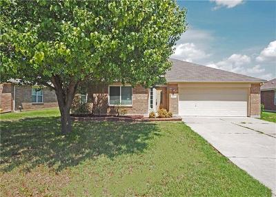 Hutto Single Family Home For Sale: 110 Kerley Dr