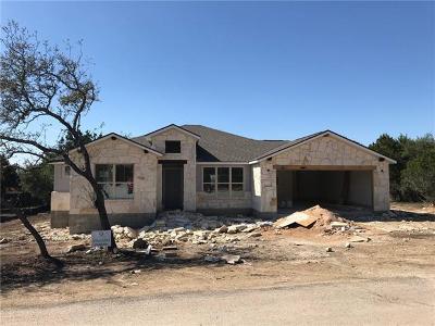 Lago Vista Single Family Home For Sale: 4221 Hillside Dr