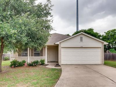 Round Rock Single Family Home For Sale: 1348 Kenneys Way S