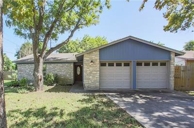 San Marcos Single Family Home Pending - Taking Backups: 1244 Conway Dr