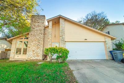 Austin Single Family Home For Sale: 9821 Teasdale Ter