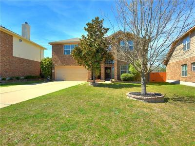 Pflugerville Single Family Home For Sale: 20346 Farm Pond Ln