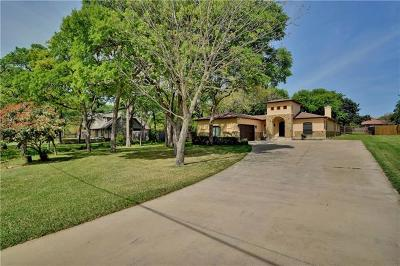 Round Rock Single Family Home For Sale: 2107 Live Oak Cir