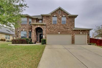 Pflugerville Single Family Home For Sale: 19401 Vilamoura St