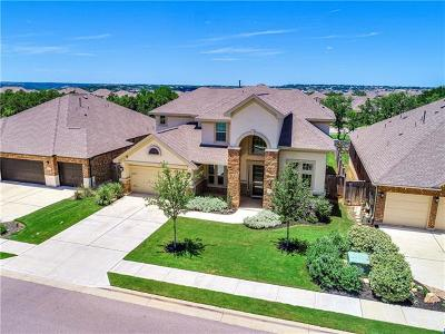 Leander Single Family Home Active Contingent: 2537 Coralbush Dr
