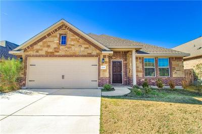 Round Rock Single Family Home For Sale: 8086 Arezzo Dr
