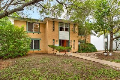 Austin Condo/Townhouse For Sale: 3417 Willowrun Dr #A