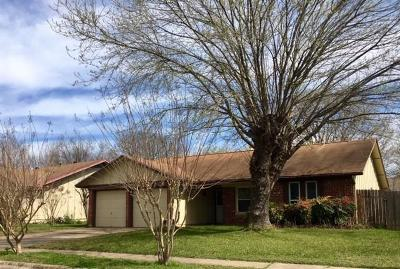 Austin Single Family Home For Sale: 5909 Wagon Bnd