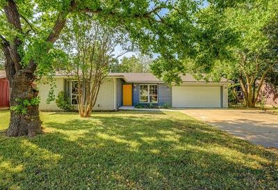 Round Rock Single Family Home For Sale: 1409 Glenmeadows Dr