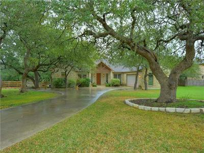 Dripping Springs Single Family Home Pending - Taking Backups: 115 Horseshoe Dr