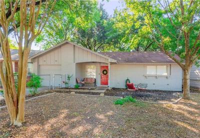 Austin Single Family Home Pending - Taking Backups: 5205 Village Path