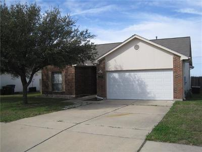 Hutto Single Family Home Pending - Taking Backups: 607 Morning Dove Dr