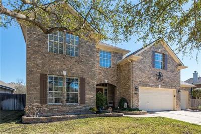 Cedar Park Single Family Home Pending - Taking Backups: 1814 Chula Vista Dr