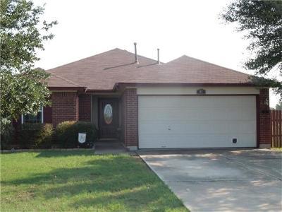 Cedar Creek Single Family Home Pending - Taking Backups: 167 Hay Meadow
