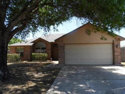 Killeen TX Single Family Home For Sale: $81,600