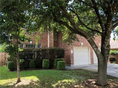 Leander Single Family Home For Sale: 2716 Granite Creek Dr