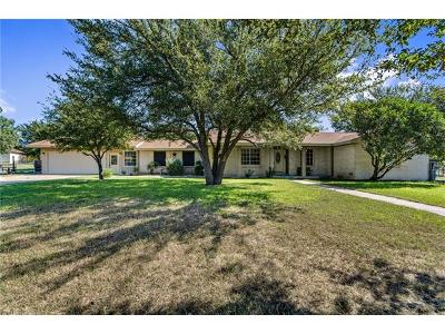 Round Rock Single Family Home For Sale: 1505 Brushy Bend Dr