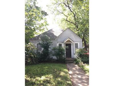 Travis County Single Family Home For Sale: 809 Keasbey St