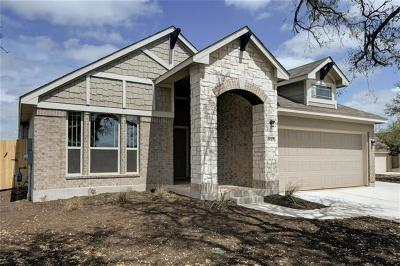 Leander Single Family Home For Sale: 1840 Chickasaw Run