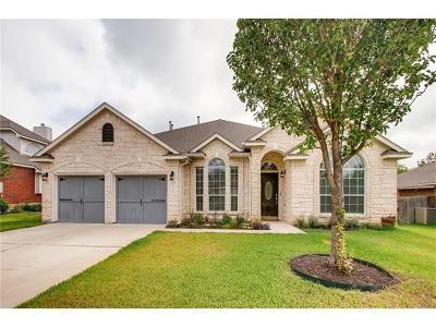Pflugerville Single Family Home For Sale: 2512 Linville Ridge Ln