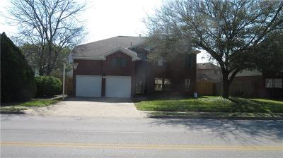 Round Rock Single Family Home For Sale: 2223 Logan Dr