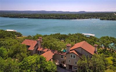 Marble Falls TX Single Family Home For Sale: $1,950,000