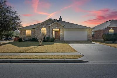 Pflugerville Single Family Home Pending - Taking Backups: 18725 Dry Lake Ln