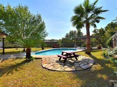 Round Rock Single Family Home For Sale: 2309 Silverleaf Cv