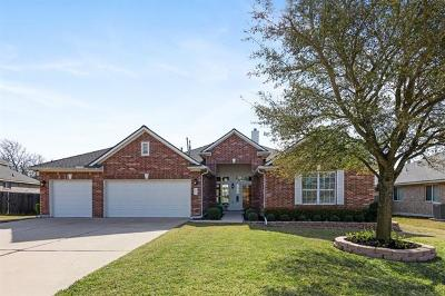 Pflugerville Single Family Home Active Contingent: 3012 Cajuiles Dr