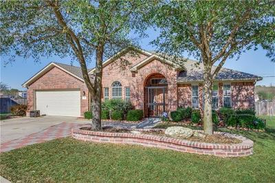 Leander Single Family Home For Sale: 901 Applerock