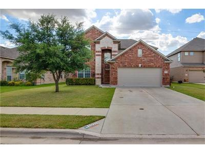 Hutto Single Family Home For Sale: 1021 N Ash Cv