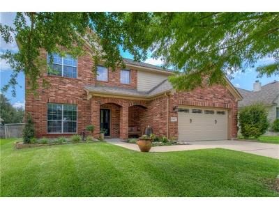 Cedar Park Single Family Home For Sale: 602 Hickory Run Dr