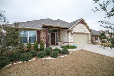 Round Rock Single Family Home For Sale: 8309 Reggio St