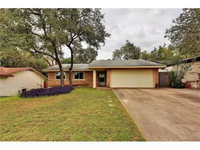 Austin Single Family Home For Sale: 8201 Beaconcrest Dr