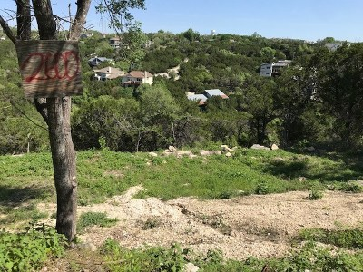 Austin Residential Lots & Land For Sale: 2518 & 2600 Crazyhorse Pass