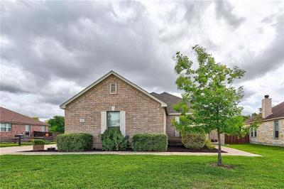 Pflugerville Single Family Home For Sale: 19201 Pencil Cactus Dr