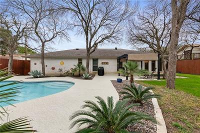 Round Rock West Sec 01, Round Rock West Sec 04, Round Rock West Sec 06a Single Family Home For Sale: 1200 Bluff Dr