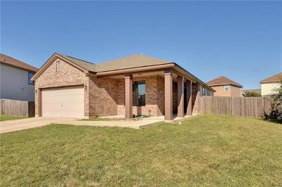 Del Valle Single Family Home For Sale: 6004 Arnhem