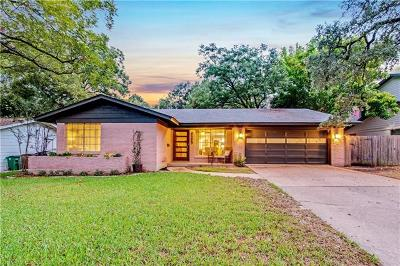Austin Single Family Home Pending - Taking Backups: 3203 Pinecrest Dr
