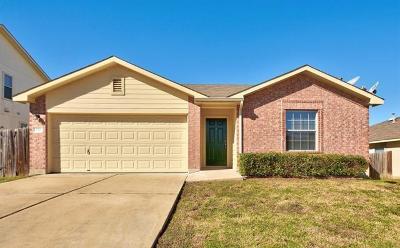 Kyle Single Family Home For Sale: 173 Peppergrass Cv