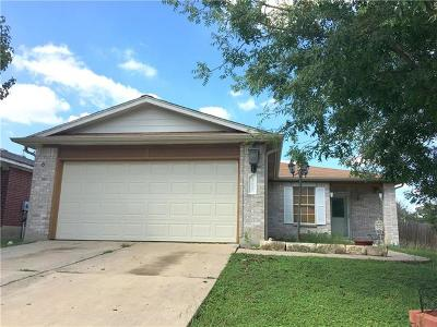 Leander Single Family Home Pending - Taking Backups: 207 Grant Ct