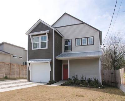 Single Family Home For Sale: 5205 Samuel Huston Ave #A