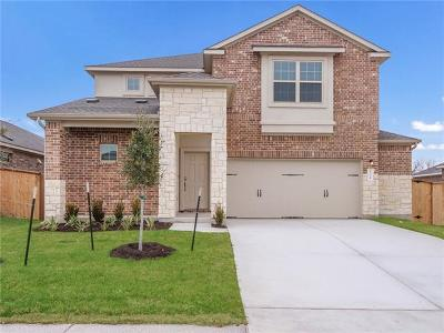 Round Rock Single Family Home For Sale: 1324 Chad Dr