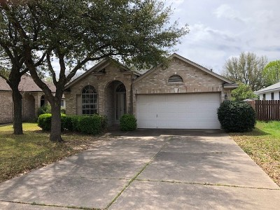 Travis County Single Family Home Pending - Taking Backups: 2909 Feathercrest Dr
