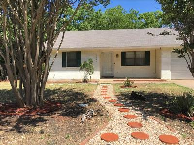 Georgetown Single Family Home Pending - Taking Backups: 1401 Quail Valley Dr