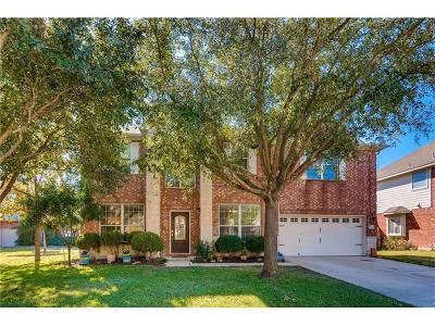Pflugerville Single Family Home For Sale: 906 House Wren Loop