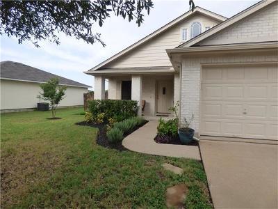 Leander Single Family Home Pending - Taking Backups: 1018 Terrace Dr
