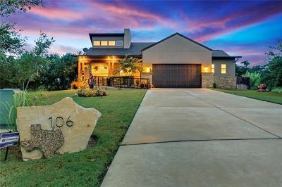 Blanco Single Family Home For Sale: 106 Monroe Upton