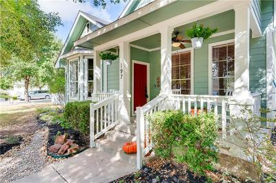 Kyle Single Family Home For Sale: 197 Mendez Loop
