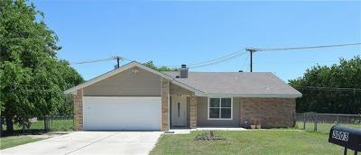Killeen Single Family Home For Sale: 3003 Persimmon Dr